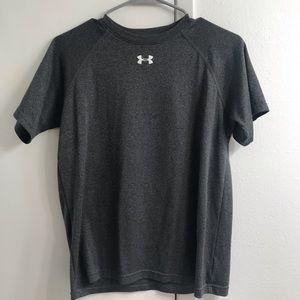 Kids Extra Large Grey Under Armour T-Shirt